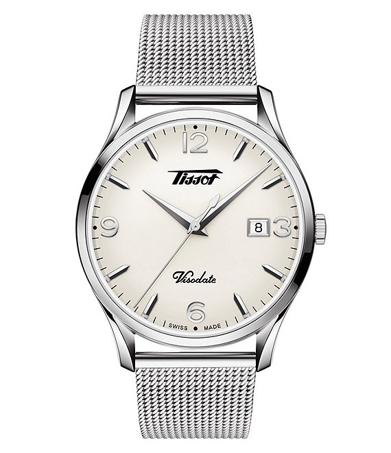 Tissot Visodate White Dial Watch