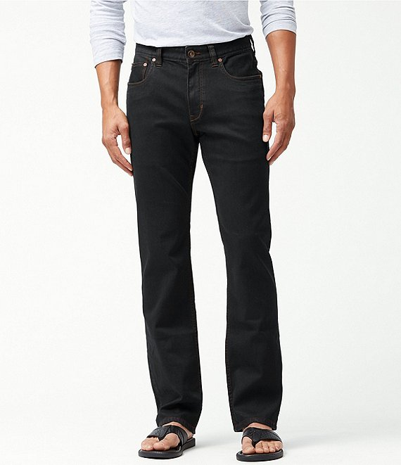 Color:Black Overdye - Image 1 - Big & Tall Sand Drifter Stretch Jeans