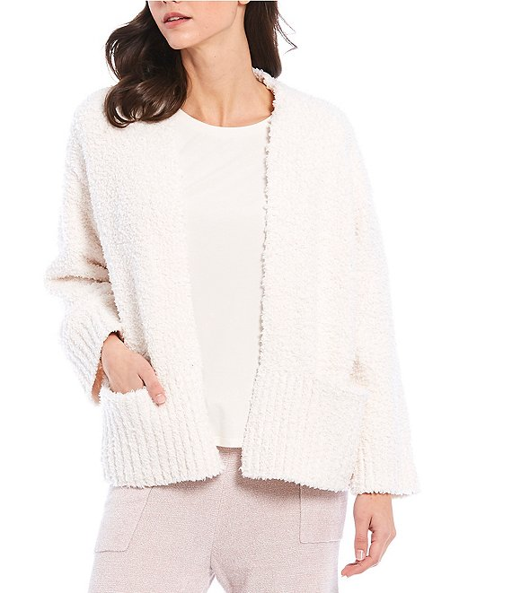 Color:Blanca - Image 1 - Island Soft Long Sleeve Open Front Cardigan