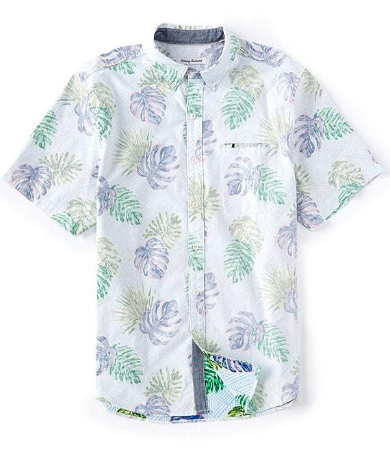 Tommy Bahama Rattan Lines Short-Sleeve Woven Shirt
