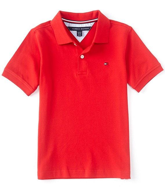 Tommy Hilfiger Boys Short Sleeve Ivy Polo Shirt