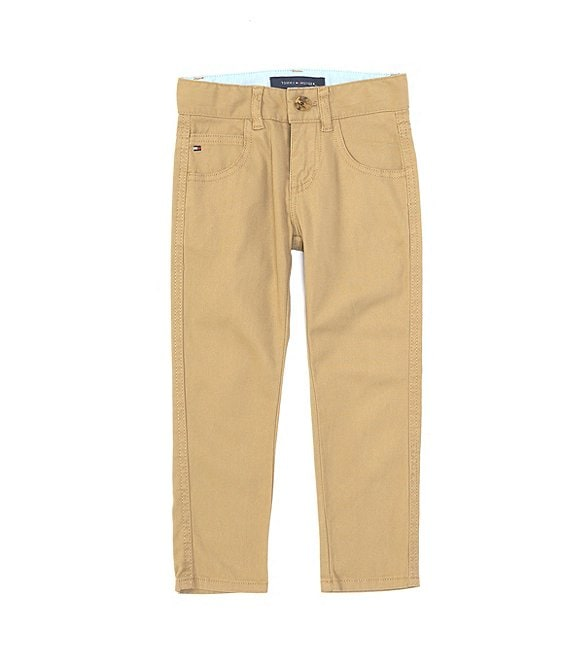 Color:Chino - Image 1 - Little Boys 2T-7 Trent Skinny-Fit Pants