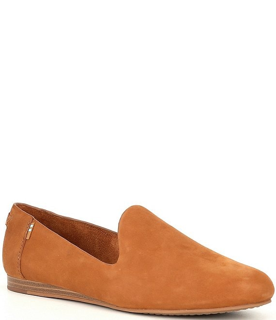 Color:Tan - Image 1 - Darcy Leather Flat Loafers