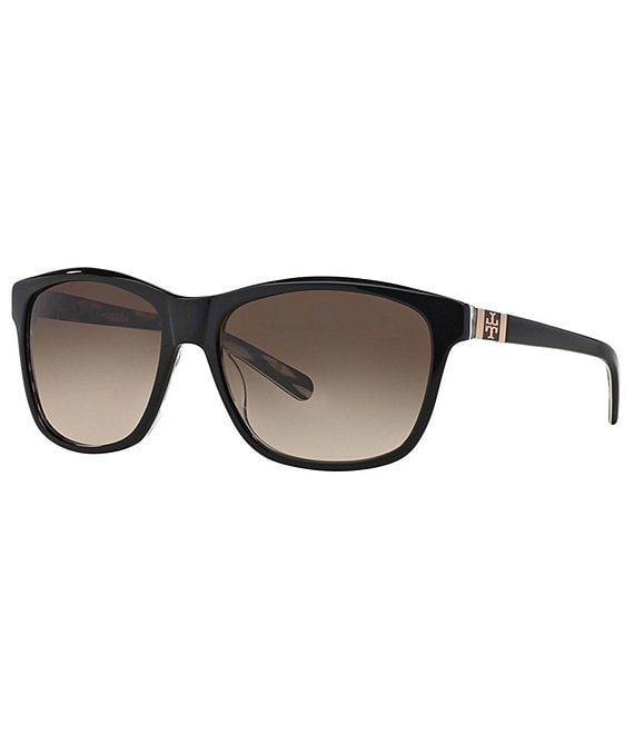 Tory Burch Stacked T Square Sunglasses
