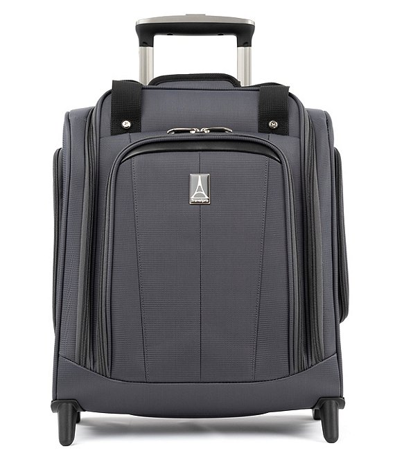 Color:Grey - Image 1 - AutoPilot 2.0 Rolling UnderSeat Carry-On