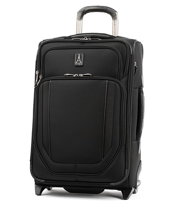 Color:Jet Black - Image 1 - Crew Versapack Global Carry-On Expandable Rollaboard