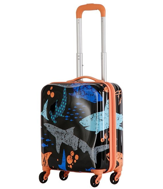 Triforce Kid's Hammer Shark Carry-On Spinner
