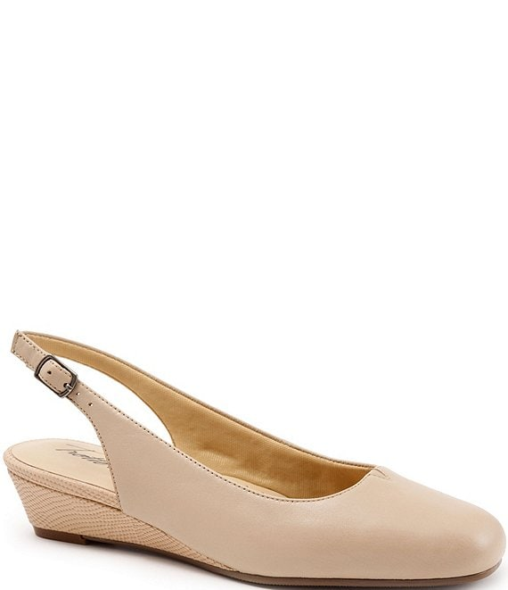 Trotters Lenore Slingback Wedge Pumps