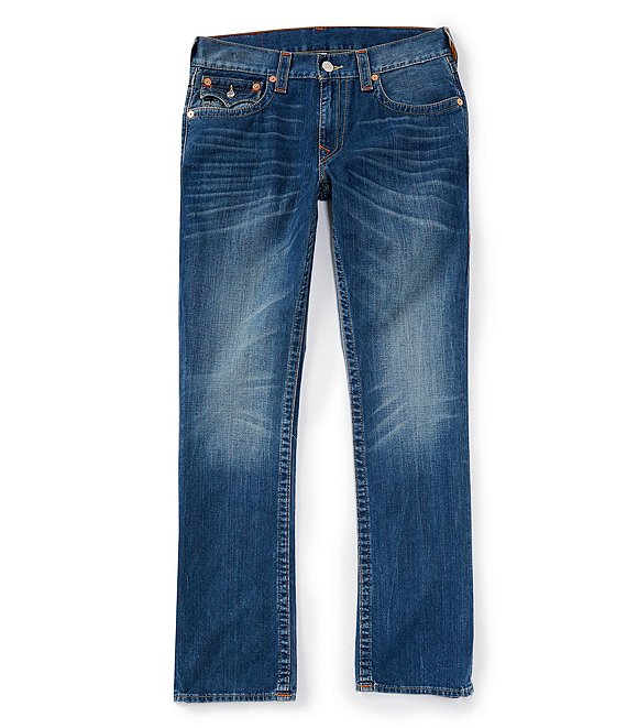 Color:Lost Adventure - Image 1 - Ricky Straight Leg Back Flap Jeans