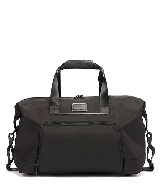 Color:Black - Image 1 - Alpha 3 Double Expansion Travel Satchel Bag