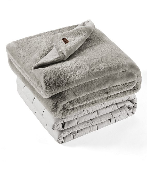 UGG 12-lb. Weighted Plush Blanket with