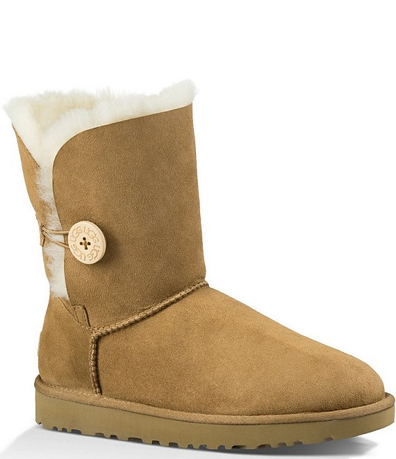 Color:Chestnut - Image 1 - UGG® Bailey Button II Suede Boots