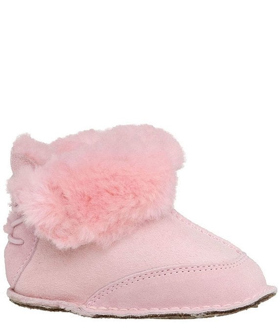 0e3a53be4fc UGG® Girls' Boo Suede Crib Shoes