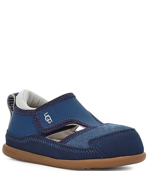 Color:Ensign Blue - Image 1 - UGG® Kids' Delta Closed Toe Sandals (Toddler)