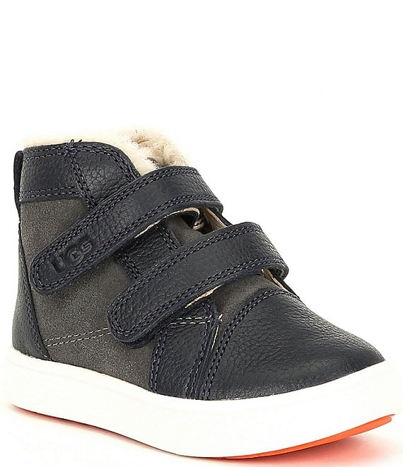 Color:Charcoal - Image 1 - UGG® Boys' Rennon II Sneakers (Infant)