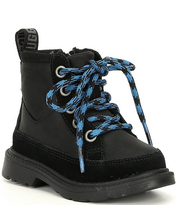 UGG® Boys' Robley Weather Lace-Up Boots