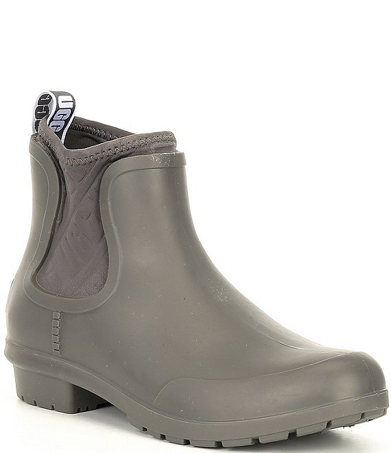 Color:Charcoal - Image 1 - UGG® Chevonne Rain Boots