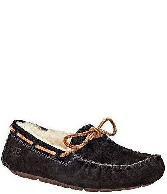 a9047c35047 UGG® Dakota Moccasin Leather Lace & Bow Slip-On Slippers
