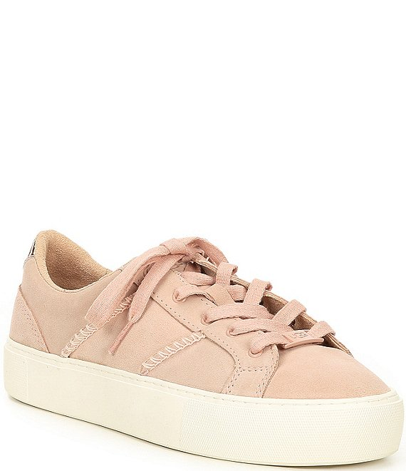 Color:Quartz - Image 1 - UGG® Dinale Suede Sneakers