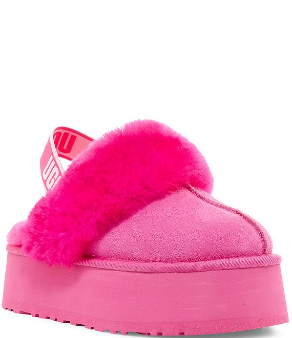 Color:Rock Rose - Image 1 - UGG® Funkette Suede Clogs
