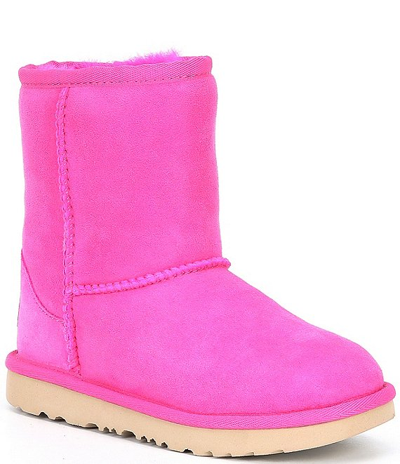 Color:Rock Rose - Image 1 - UGG® Girls' Classic II Water Resistant Boots (Infant)