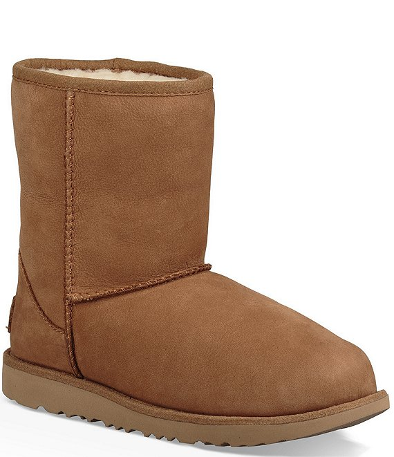f1f2b52f795 UGG® Girls' Classic Short II Waterproof Boots