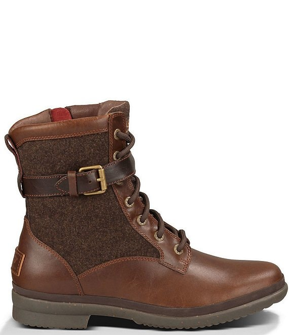 buy 100% high quality look for UGG® Women's Kesey Waterproof Leather and Textile Boots | Dillard's