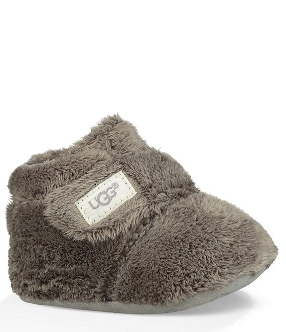 Color:Charcoal - Image 1 - UGG® Kids' Bixbee Crib Shoe (Infant)