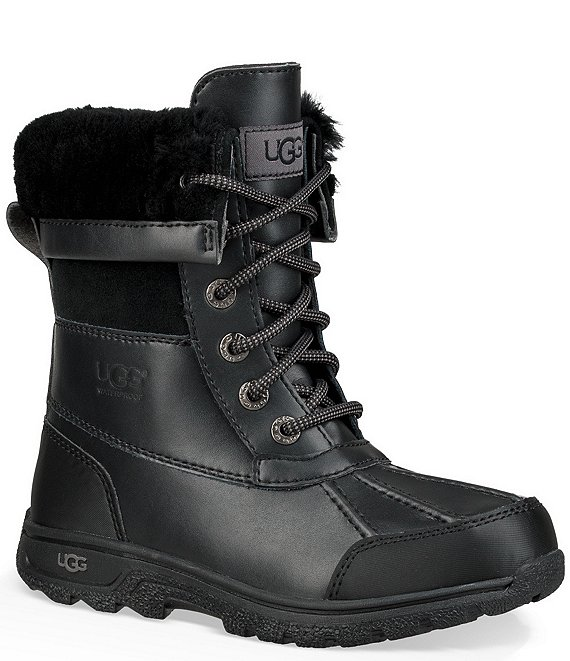 42d1f6494e8 UGG® Kid's Butte II Waterproof and Leather Winter Boot