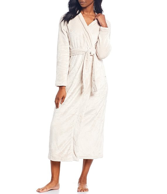 UGG Marlow Plush Fleece Long Wrap Robe