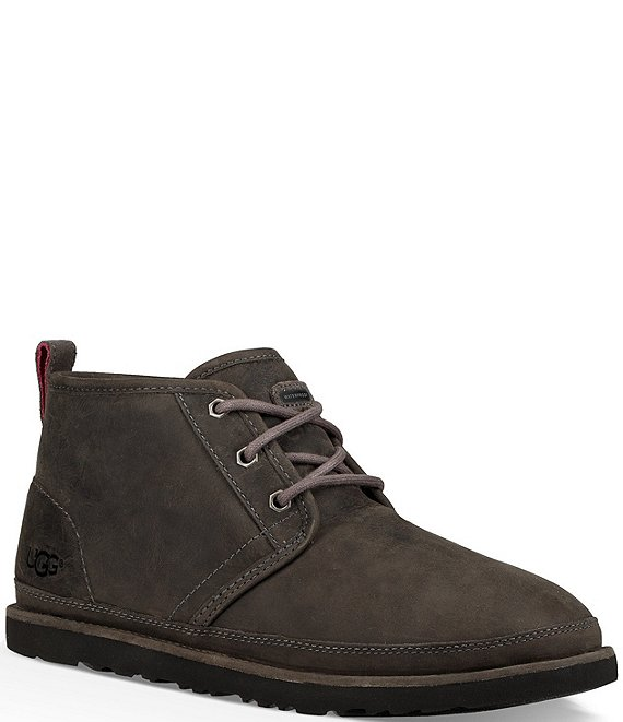 Color:Charcoal - Image 1 - UGG® Men's Neumel Waterproof Chukka Boots