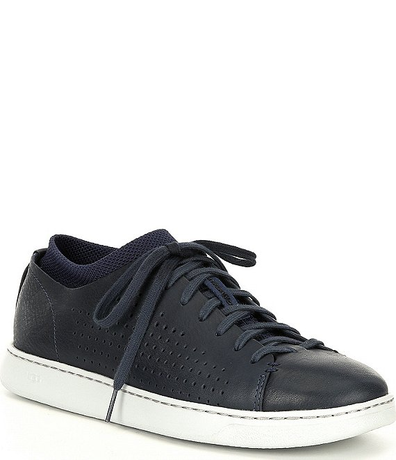 Color:Dark Sapphire Hyperweave - Image 1 - UGG® Men's Pismo Low Perforated Sneakers