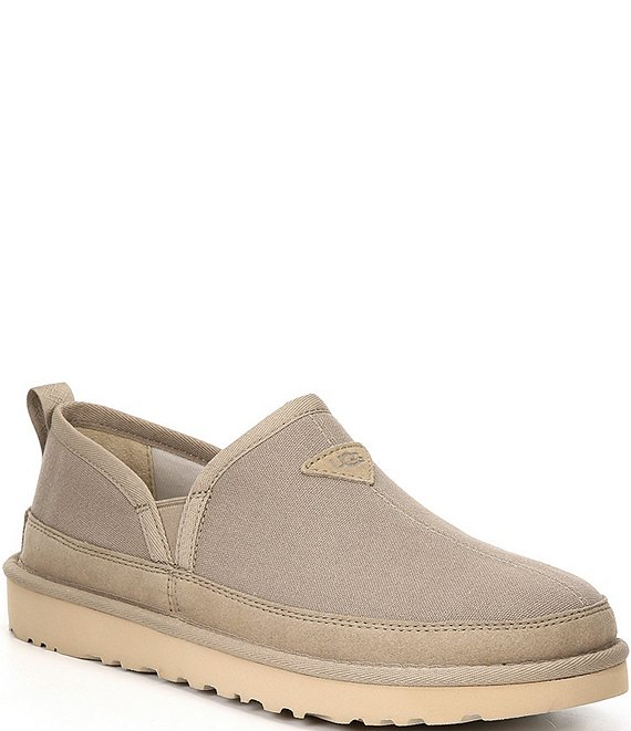 Color:Dune - Image 1 - UGG® Men's Romeo Canvas Slippers