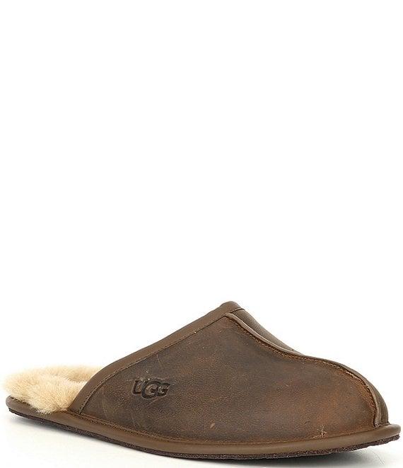 UGG® Men's Scuff Leather Slipper