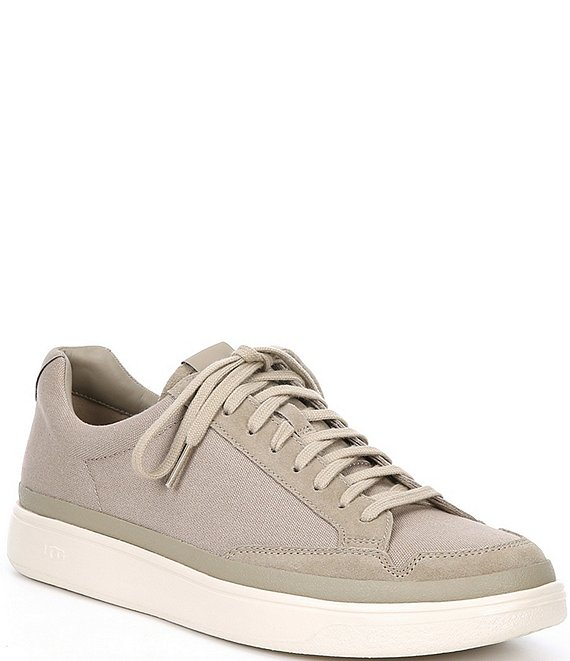 Color:Dune - Image 1 - UGG® Men's South Bay Low Canvas Sneakers