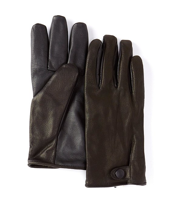 UGG Men's Splice Vent Leather Tech Glove