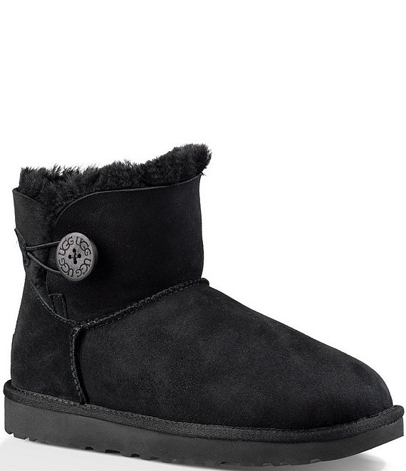 b21c39a97d4 UGG® Mini Bailey Button II Suede Booties