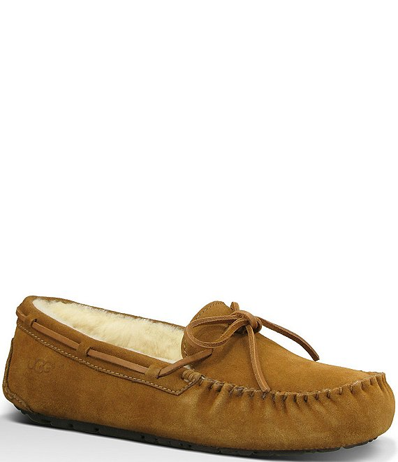 b678a523c UGG® Men's Olsen Suede Slippers | Dillard's