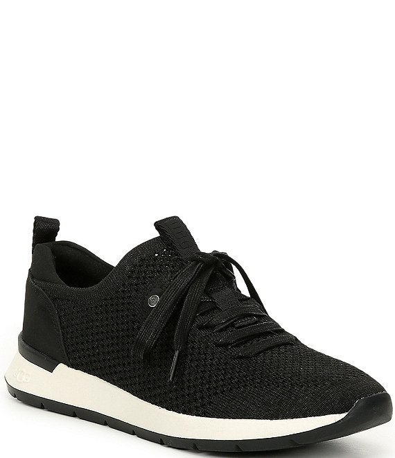 Color:Black - Image 1 - UGG® Tay Knit Sneakers