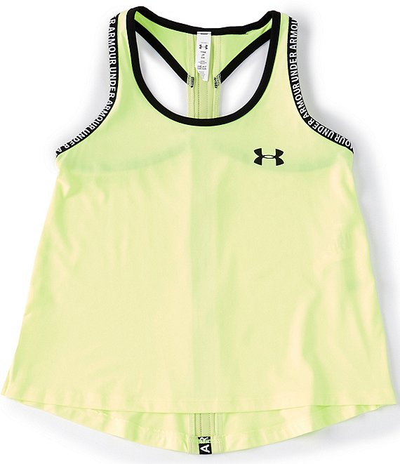 Color:XRay/Neo Yellow - Image 1 - Big Girls 7-16 Knockout Tank Top