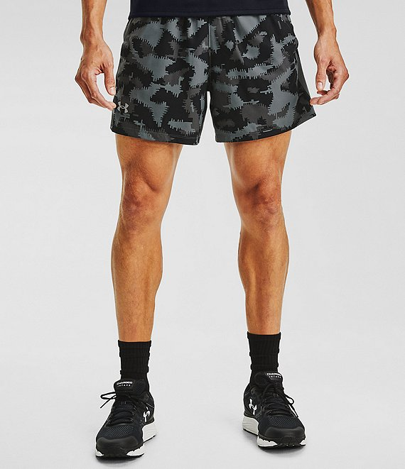 Under Armour Launch SW 5#double; Inseam Camo Print Run Shorts