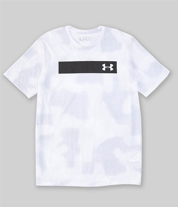 Under Armour Loose Short-Sleeve Printed Bar T-Shirt