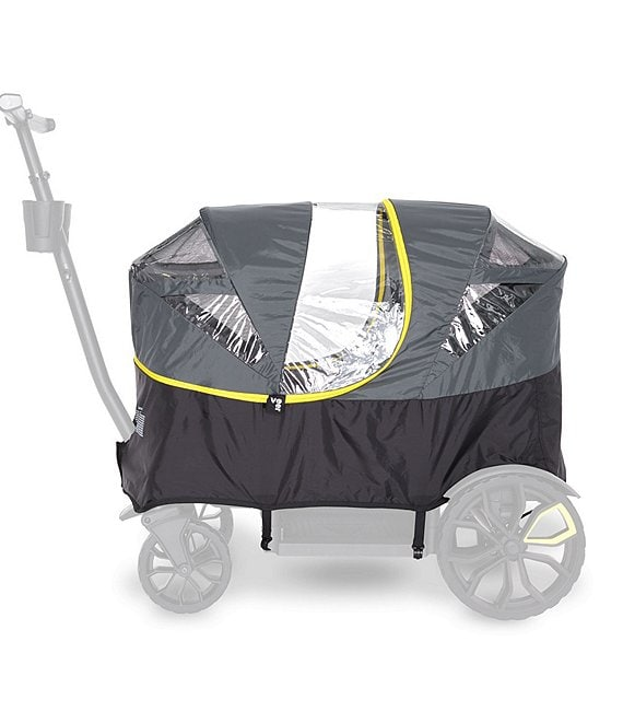 Color:Black - Image 1 - All-Terrain Weather Cover for All-Terrain Cruiser Stroller/Wagon