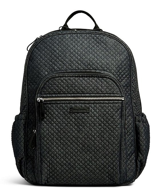 Color:Denim Navy - Image 1 - Denim Iconic Campus Backpack