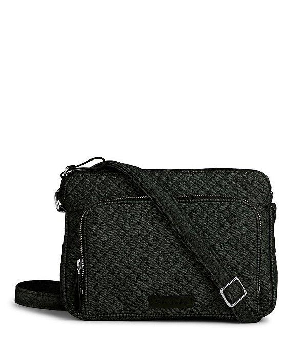 5dfea0b8775 Vera Bradley Denim Iconic RFID Little Hipster Cross-Body Bag