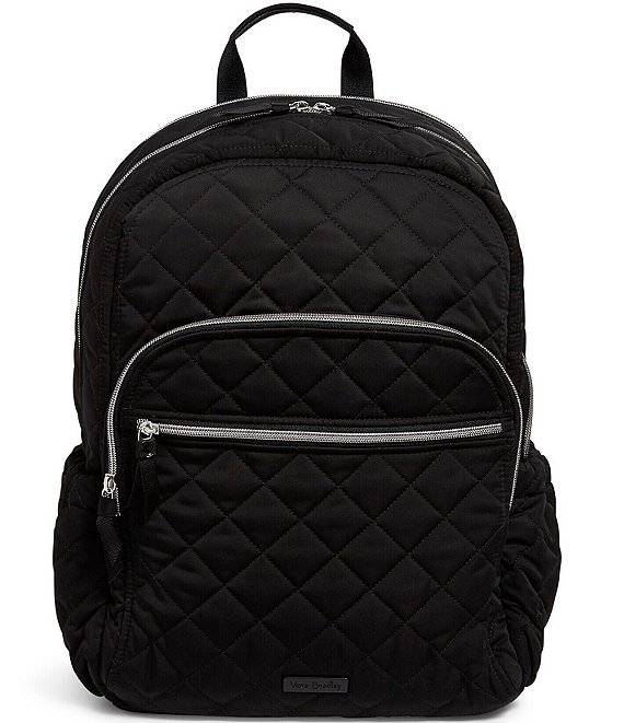 Color:Black - Image 1 - Performance Twill Collection Campus Backpack