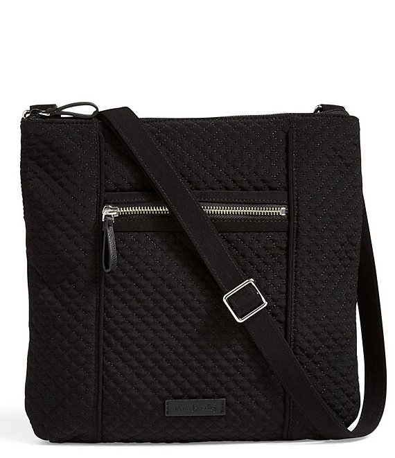 Color:Classic Black - Image 1 - Iconic Hipster Quilted Crossbody Bag
