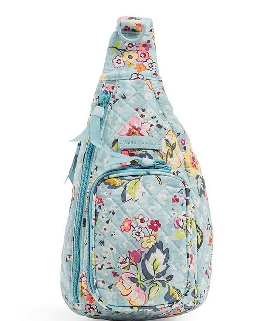 Color:Floating Garden - Image 1 - Iconic Mini Sling Backpack