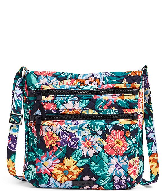 Vera Bradley Iconic Triple Zip Hipster Quilted Crossbody Bag