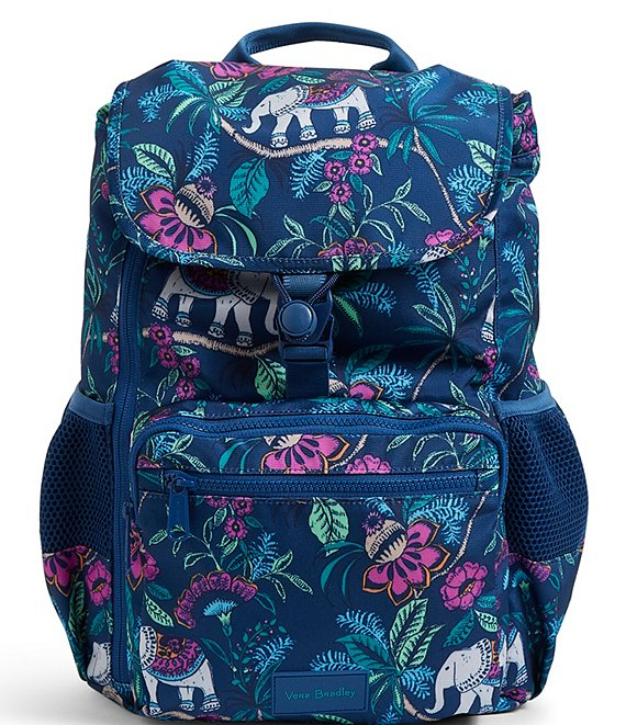 Color:Kerala Elephants - Image 1 - Reactive Collection Daytripper Backpack